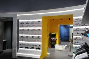 ristrutturazione negozi scarpe a roma
